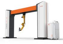 Оптоволоконный лазерный робот для резки металла RC18-HF