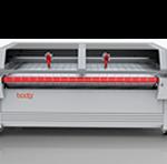 Многоголовый лазерный станок резки с автоподачей материалов и фонкцией взаимосмещения—серия BCLXH2