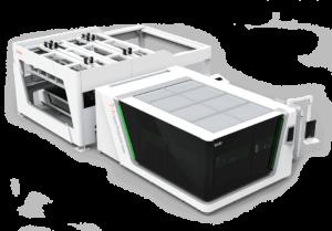 Защитный лазерный резак автоматической загрузки P-A