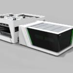 Высокомощный лазерный резак автозагрузки и разгрузки S-A